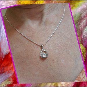 Jewelry - Silver Water Drop Pendant